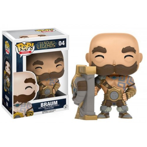 Funko Pop! Games 04: League of Legend – Braum