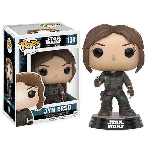 Funko Pop! Star Wars 138: Star Wars Rogue One - Jyn Erso