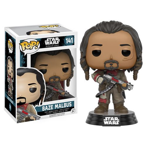 Funko Pop! Star Wars 141: Star Wars Rogue One - Baze Malbus