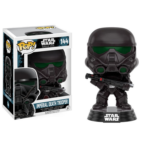 Funko Pop! Star Wars 144: Star Wars Rogue One - Imperial Death Trooper