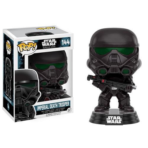 Funko Pop! Star Wars 144: Star Wars Rogue One - Imperial Death Trooper