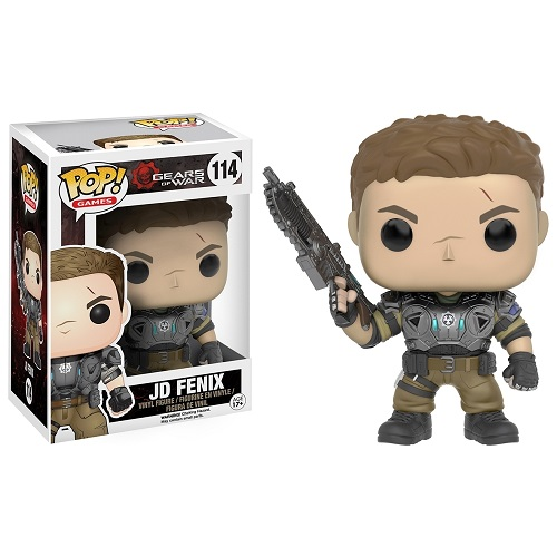 Funko Pop! Games 114: Gears of War – JD Fenix