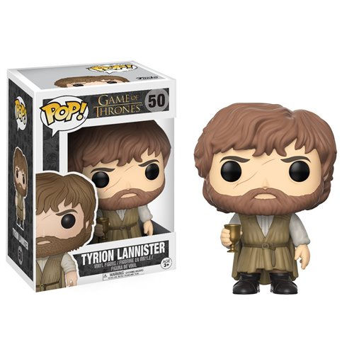 Funko Pop! GOT 50: Game of Thrones - Tyrion Lannister