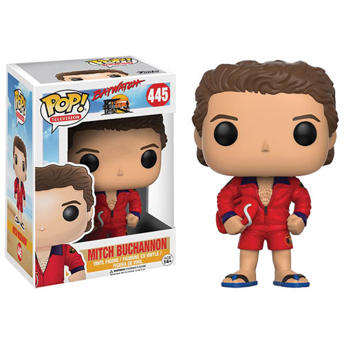 Funko Pop! TV 445: Baywatch – Mitch Buchannon