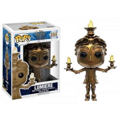 Funko Pop! Disney 244: Beauty and the Beast – Lumiere