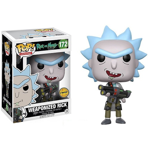 Funko Pop! Animation 172: Weaponized Rick