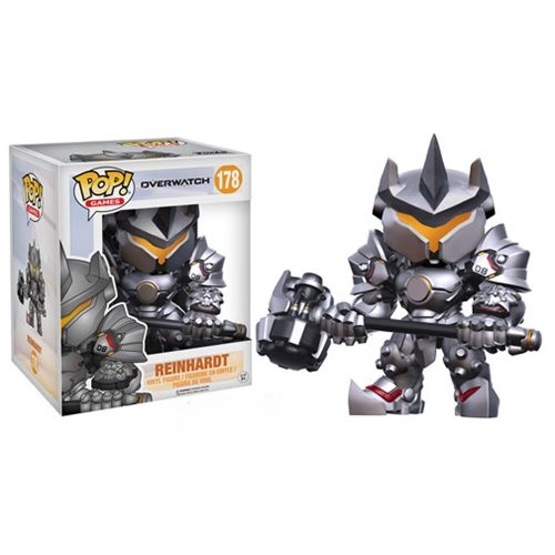 Funko Pop! Games 178: Overwatch – Reinhardt 6""