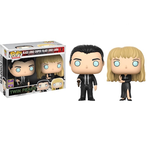 Funko Pop! TV: Black Lodge Cooper and Laura 2 Pack