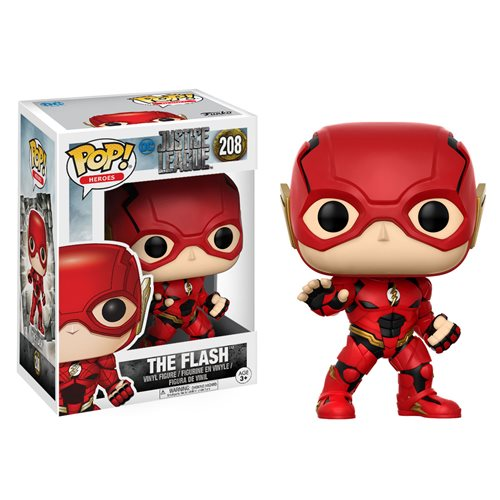 Funko Pop! Heroes 208: Justice League - The Flash