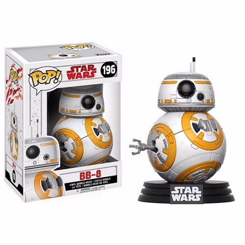 Funko Pop! Star Wars 196: The Last Jedi - BB-8