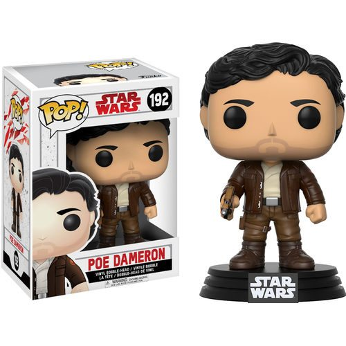 Funko Pop! Star Wars 192: The Last Jedi – Poe Dameron
