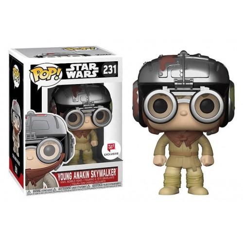 Funko Pop! Star Wars 231: Young Anakin Podracer Helmet