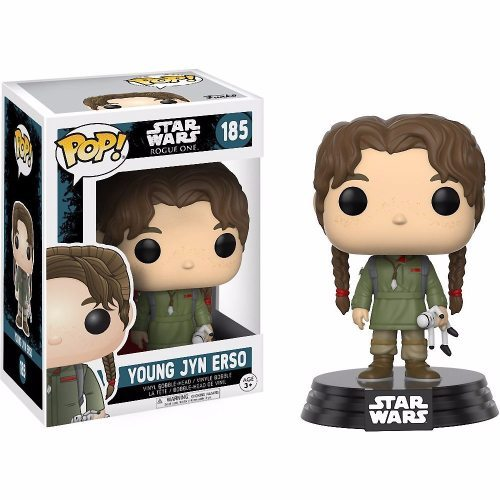 Funko Pop! Star Wars 185: Star Wars Rogue One - Young Jyn Erso