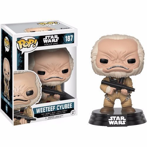 Funko Pop! Star Wars 187: Star Wars Rogue One - Weeteef Cyubee