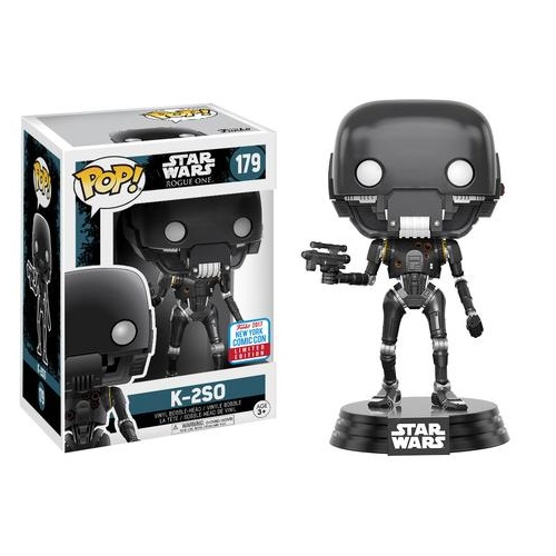 Funko Pop! Star Wars 179: SWR1 - K-2SO with Gun