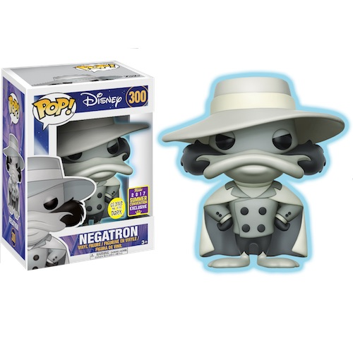 Funko Pop! Disney 300: Darkwing Duck – Negatron