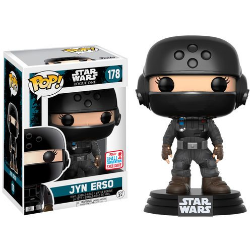 Funko Pop! Star Wars 178: SWR1 – Jyn Erso Disguise