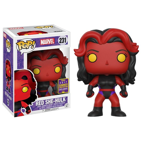 Funko Pop! Marvel 231: Red She-Hulk