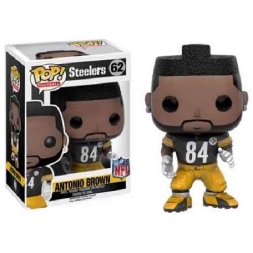 Funko Pop! NFLW4 62: Antonio Brown (Bumble Bee)