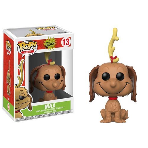 Funko Pop! Books 13: The Grinch - Max the Dog