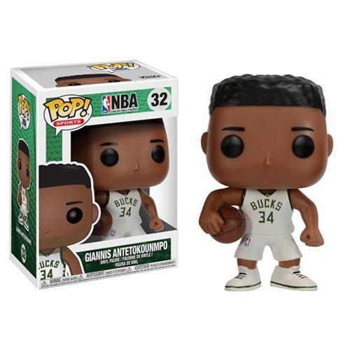 Funko Pop! NBA 32: Giannis Antetokounmpo Milwaukee Bucks