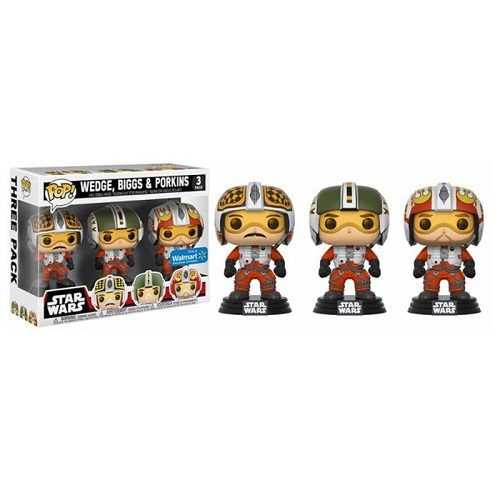 Funko Pop! Star Wars: X-Wing Pilots 3 Pack - Biggs
