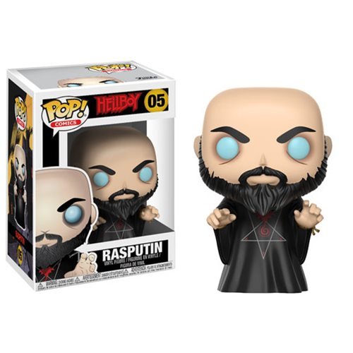 Funko Pop! Comics 05: Hellboy – Rasputin