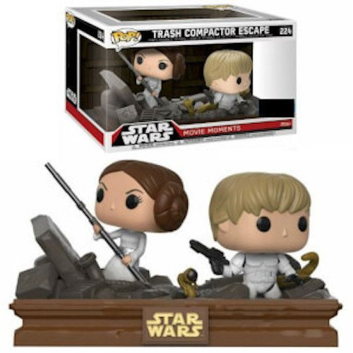 Funko Pop! Star Wars 224: Movie Moments – Trash Compactor Escape