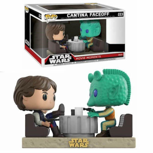 Funko Pop! Star Wars 223: Movie Moments - Cantina Faceoff