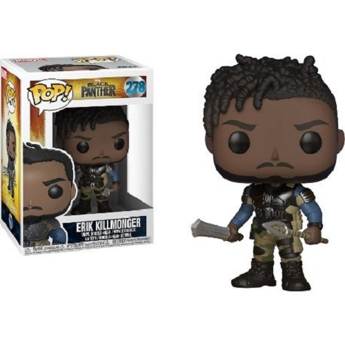 Funko Pop! Marvel 278: Black Panther – Erik Killmonger
