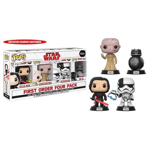 Funko Pop! Star Wars: The Last Jedi First Order 4 Pack