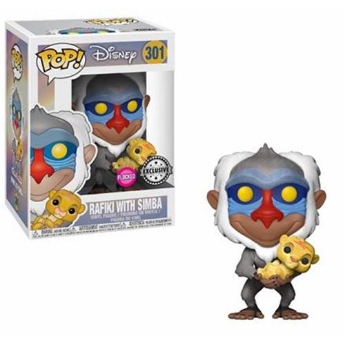 Funko Pop! Disney 301: Rafiki w baby Simba