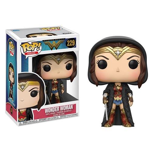 Funko Pop! Heroes 229: Wonder Woman – Wonder Woman loak
