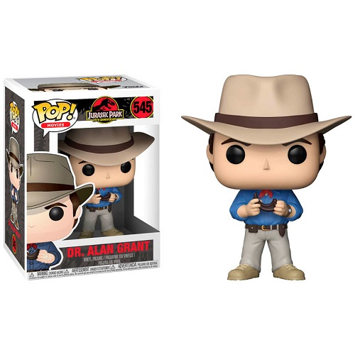 Funko Pop! Movies 545: Jurassic Park – Dr Alan Grant