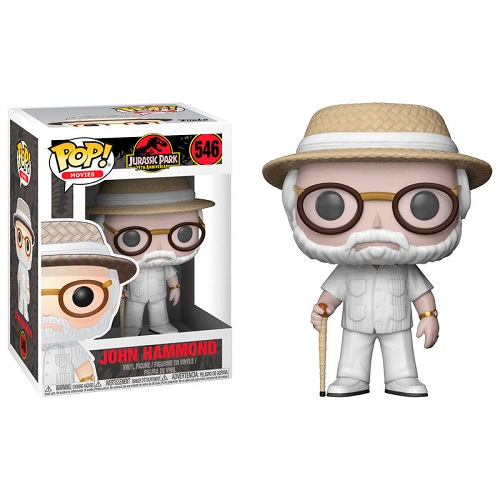 Funko Pop! Movies 546: Jurassic Park - John Hammond