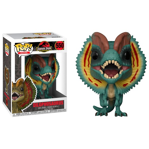 Funko Pop! Movies 550: Jurassic Park - Dilophosaurus