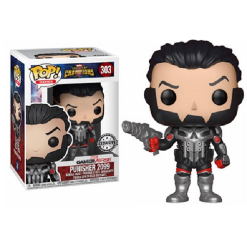 Funko Pop! Games 303: Marvel COC - Punisher 2099
