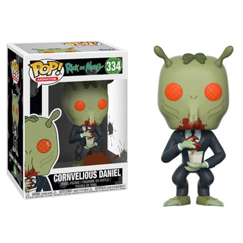Funko Pop! Animation 334: Rick & Morty - Cornvelious Daniel with  Sauce