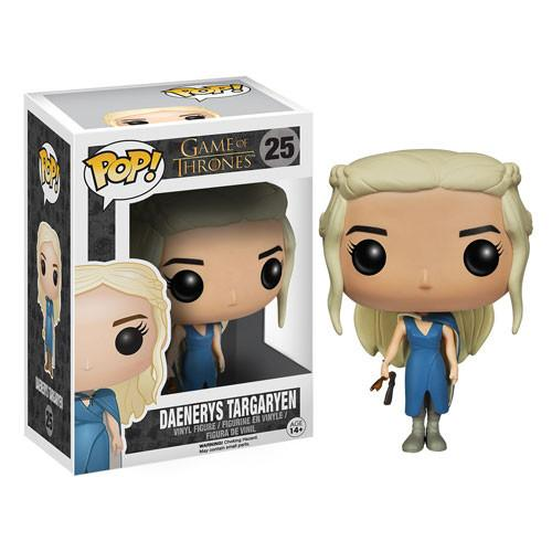 Funko Pop! GOT 25: Game of Thrones - Daenerys Targaryen Blue Dress Mhysa