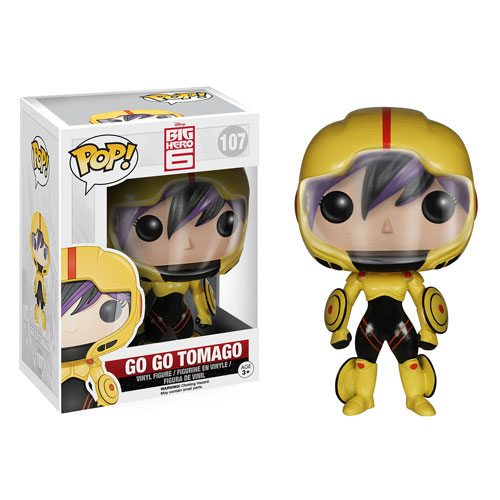 Funko Pop! Disney 107: Big Hero 6 – Gogo Tomago