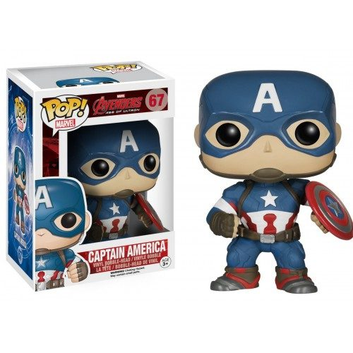 Funko Pop! Marvel 67: Age of Ultron – Captain America
