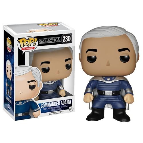 Funko Pop! TV 230: Battlestar Galactica – Commander Adama