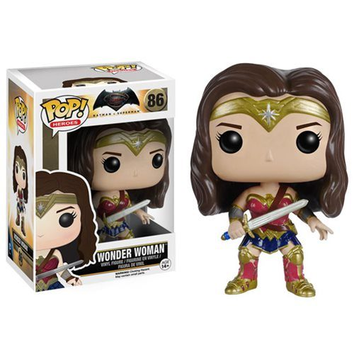 Funko Pop! Heroes 86: Batman Vs Superman - Wonder Woman