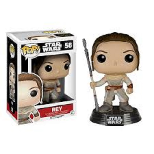 Funko Pop! Star Wars 58: The Force Awaken – Rey