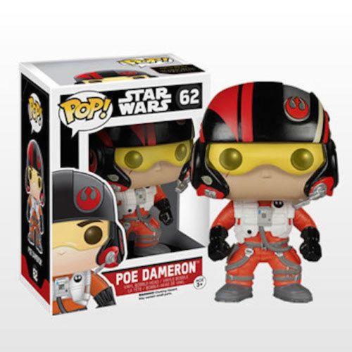 Funko Pop! Star Wars 62: The Force Awaken - Poe Dameron