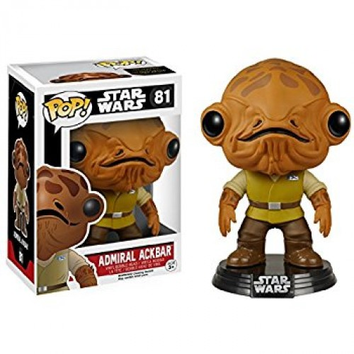 Funko Pop! Star Wars 81: The Force Awaken - Admiral Ackbar