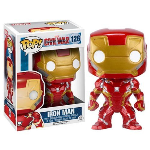 Funko Pop! Marvel 126: Civil War Captain America 3 - Iron Man