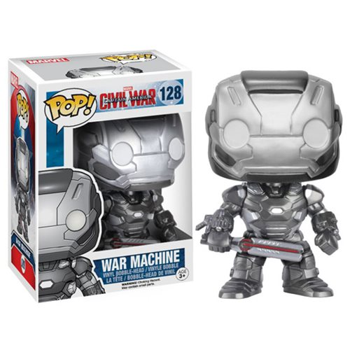 Funko Pop! Marvel 128: Civil War Captain America 3 - War Machine
