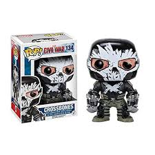 Funko Pop! Marvel 134: Civil War Captain America 3 - Crossbones