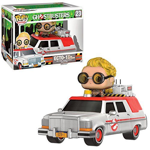 Funko Pop! Rides 23: GhostBusters - Jillian Holtzmann with Ecto-1